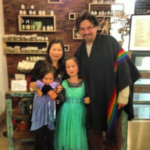 david wolfe dining at shokuiku