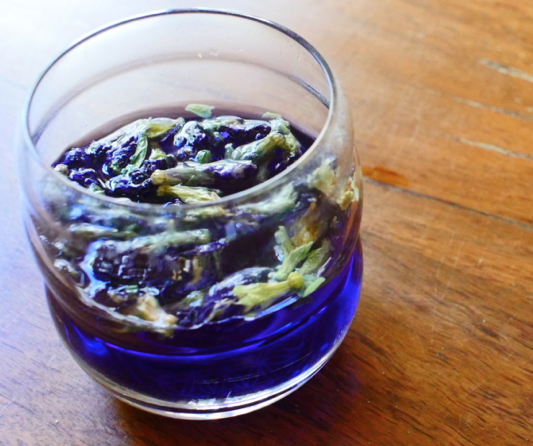 organic butterfly pea flower tea